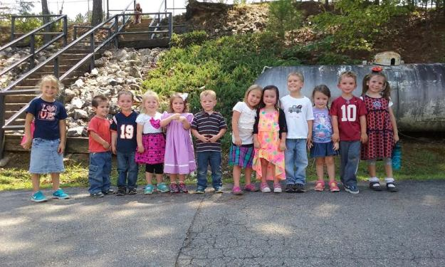 What a precious group of children.  We love our BMCS Preschool!